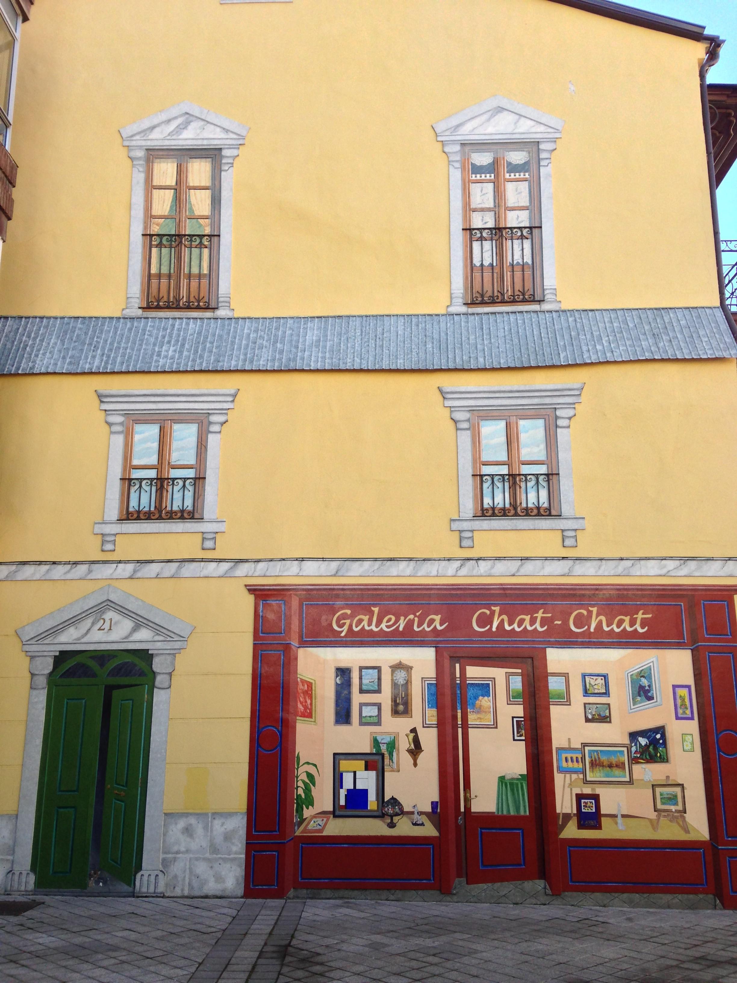 Galería Chat Chat en la calle Alonso Pesquera de Valladolid